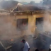 Breaking News: Tanker Carrying Fuel Catches Fire In Nasarawa State, Many Houses Already Burnt Down