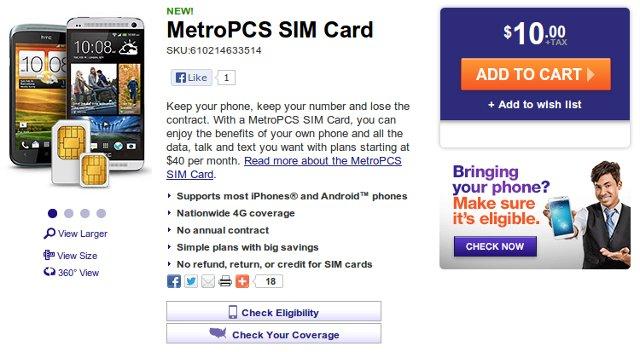 Metropcs website