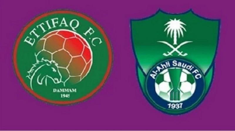 نتيجة مباراة الاهلي والاتفاق 4-1 اليوم الخميس 22-12-2016 فى بظولة دوري عبداللطيف جميل السعودي