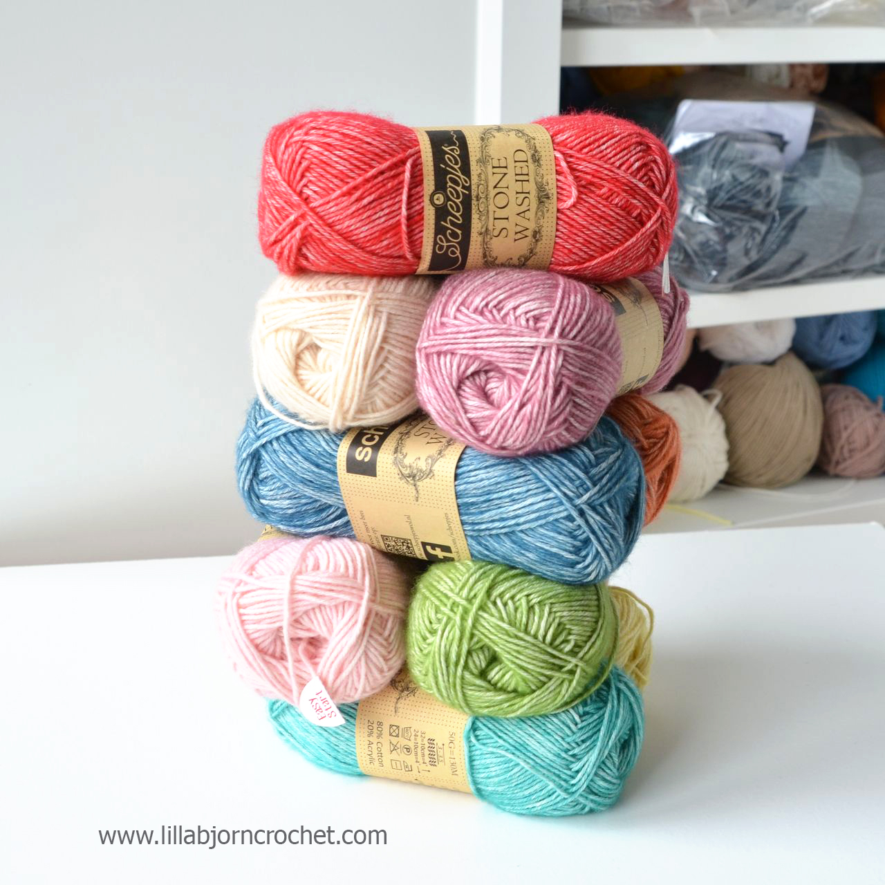 Stone Washed yarn by Scheepjes