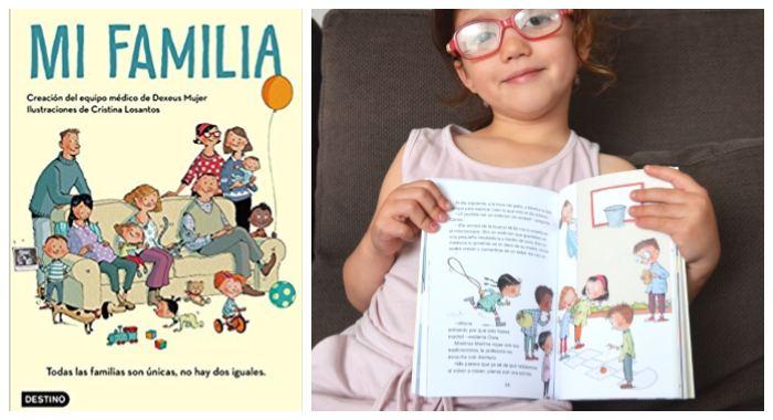libro infantil juvenil embarazo concepcion parto Mi familia dexeus