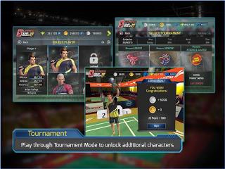 LiNing Jump Smash 15 Badminton Apk v1.3.10 Mod Cheats Infinite Coins & More Terbaru