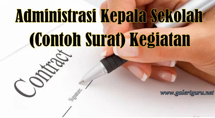 Contoh SK Pelaksanaan Kegiatan Jambore (Kepala Sekolah ...