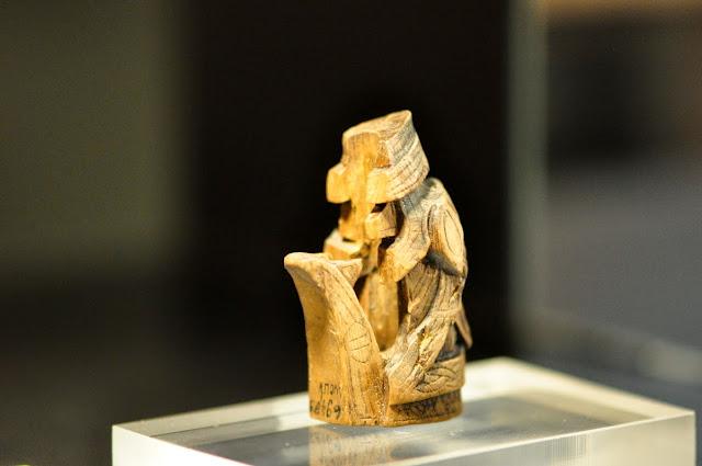 głowa smoka lub wilka z wczesnośredniowiecznego Wolina