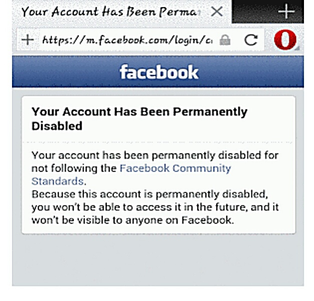how to disable facebook account open