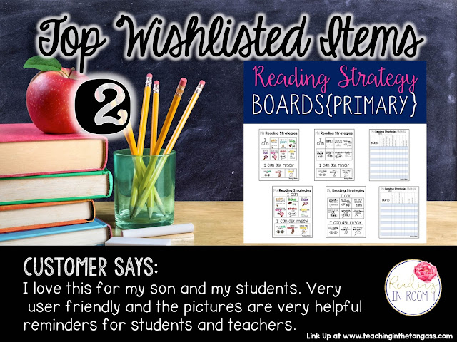 https://www.teacherspayteachers.com/Product/Reading-Strategy-Boards-Primary-2052570