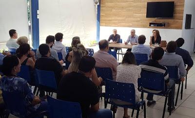 Diretoria de Geologia e Recursos Minerais visita Superintendência Regional de Goiânia