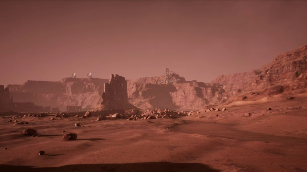 Memories of Mars game image - mining base