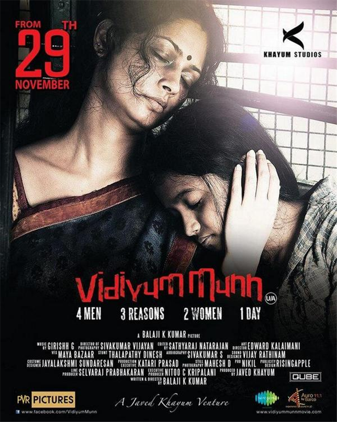 Vidiyum Munn 2019 720p Hindi Dubbed HDRip 400MB