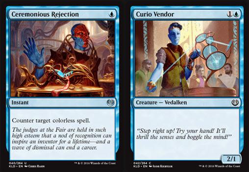 Magic the Gathering Adventures: Kaladesh Set Review: Blue