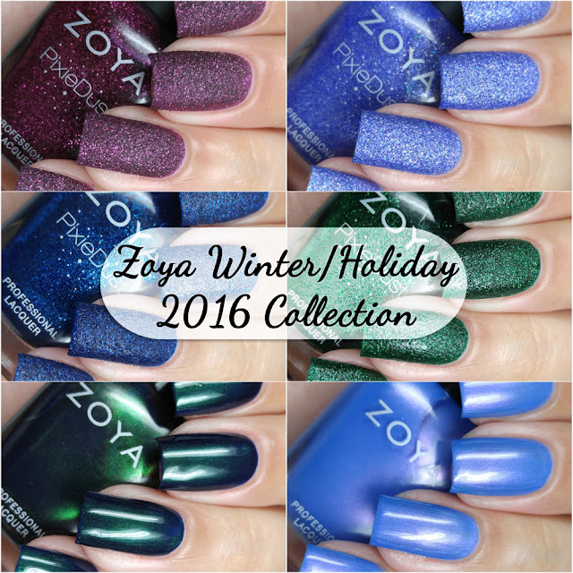 Zoya - Enchanted Winter/Holiday 2016 Collection