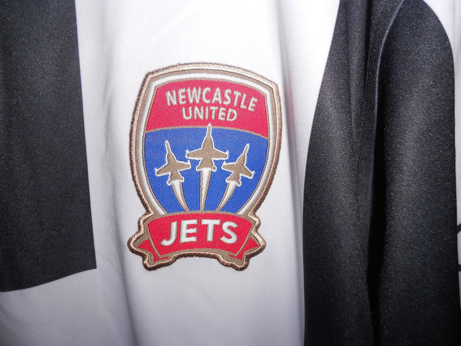 Newcastle Jets: My Collection Of Football Shirts: Newcastle Jets Away 2012
