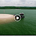 Praia de Belterra deixa internautas impressionados