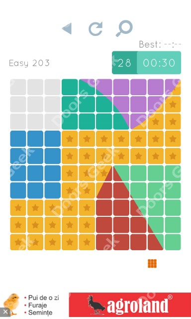 Cheats, Walkthrough for Blocks and Shapes Level 203