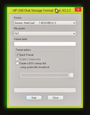 Gagal Foramat Flashdisk, Perbaiki dengan HP USB Disk Storage ...