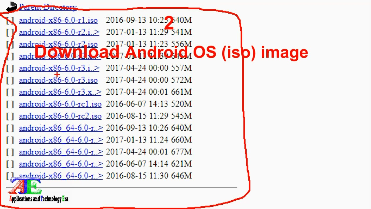 download android 7 iso file