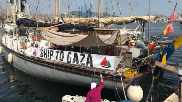 Israel intercepta flotilla que intentó romper el bloqueo de Gaza