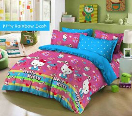 Sprei Kitty Rainbow Dash terabru dari star