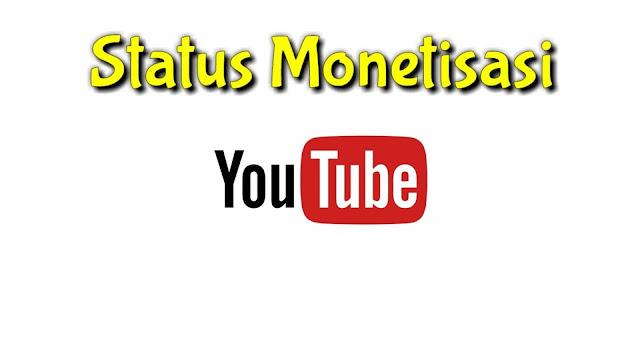 Status monetisasi ditunda