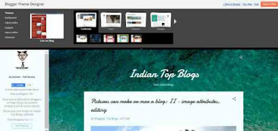 blogger new theme