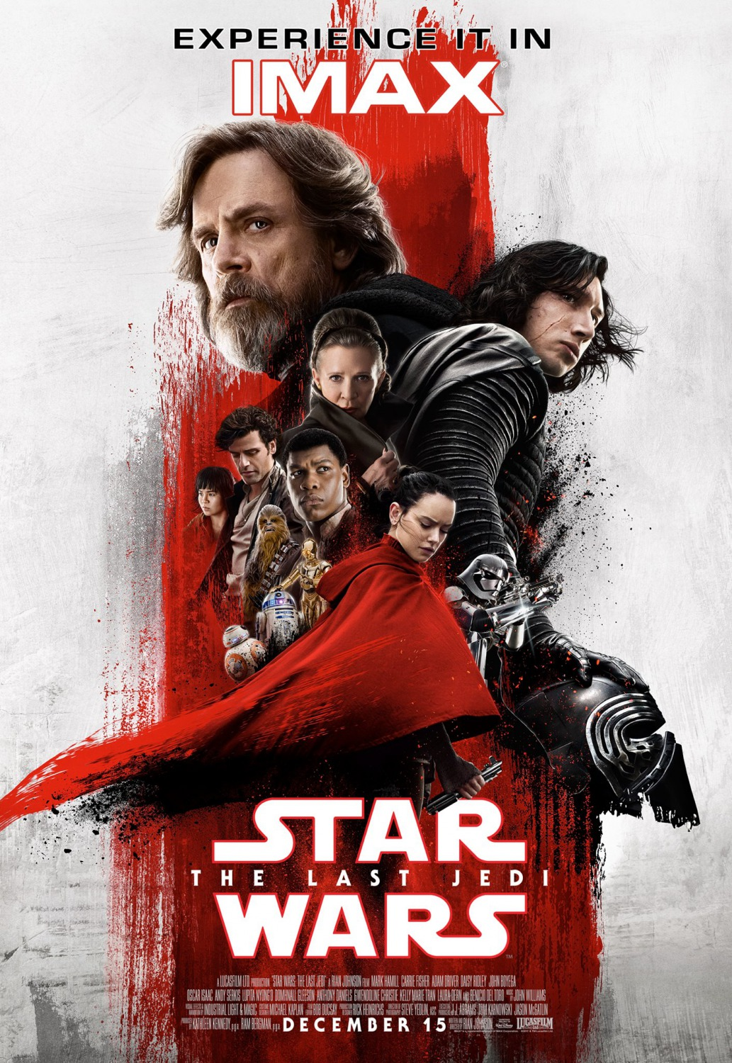 Star Wars: The Last Jedi IMAX Movie Poster
