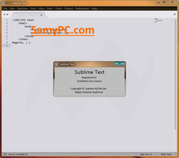 Sublime Text Free Download Full Latest Version