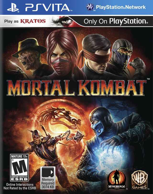 ALL GAMES FREE: Mortal Kombat (NoNpDrm) [USA] PS VITA DOWNLOAD