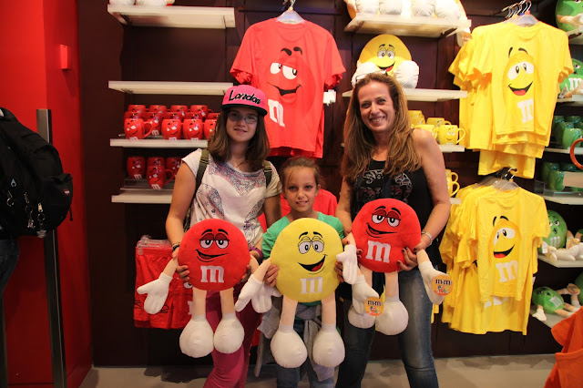 londres, m&m-shop