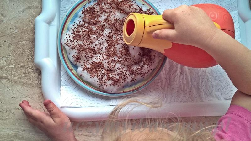 dbanie o rośliny - Montessori
