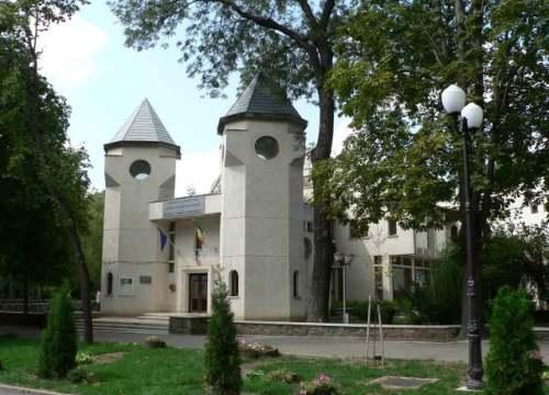 Muzeul Mihai Eminescu din exterior