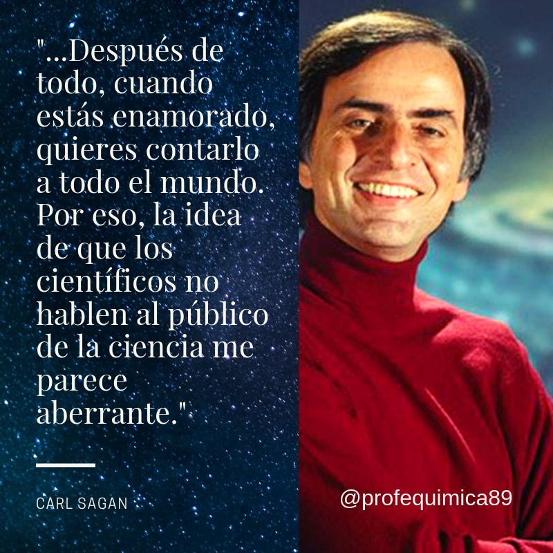 Después De Todo Cuando Estas Enamorado Carl Sagan
