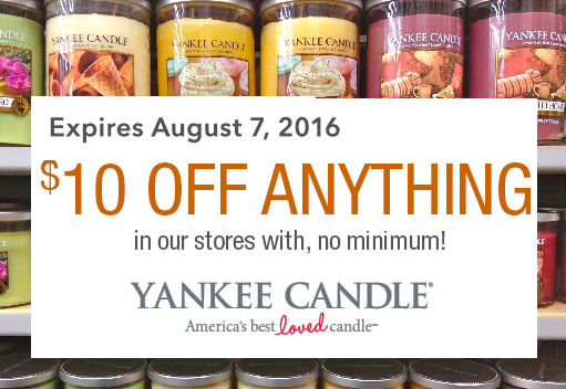 Yankee candle shop coupons