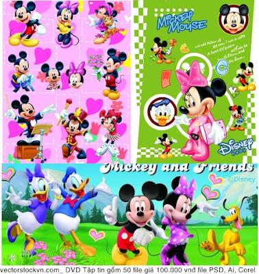 DVD chuột mickey