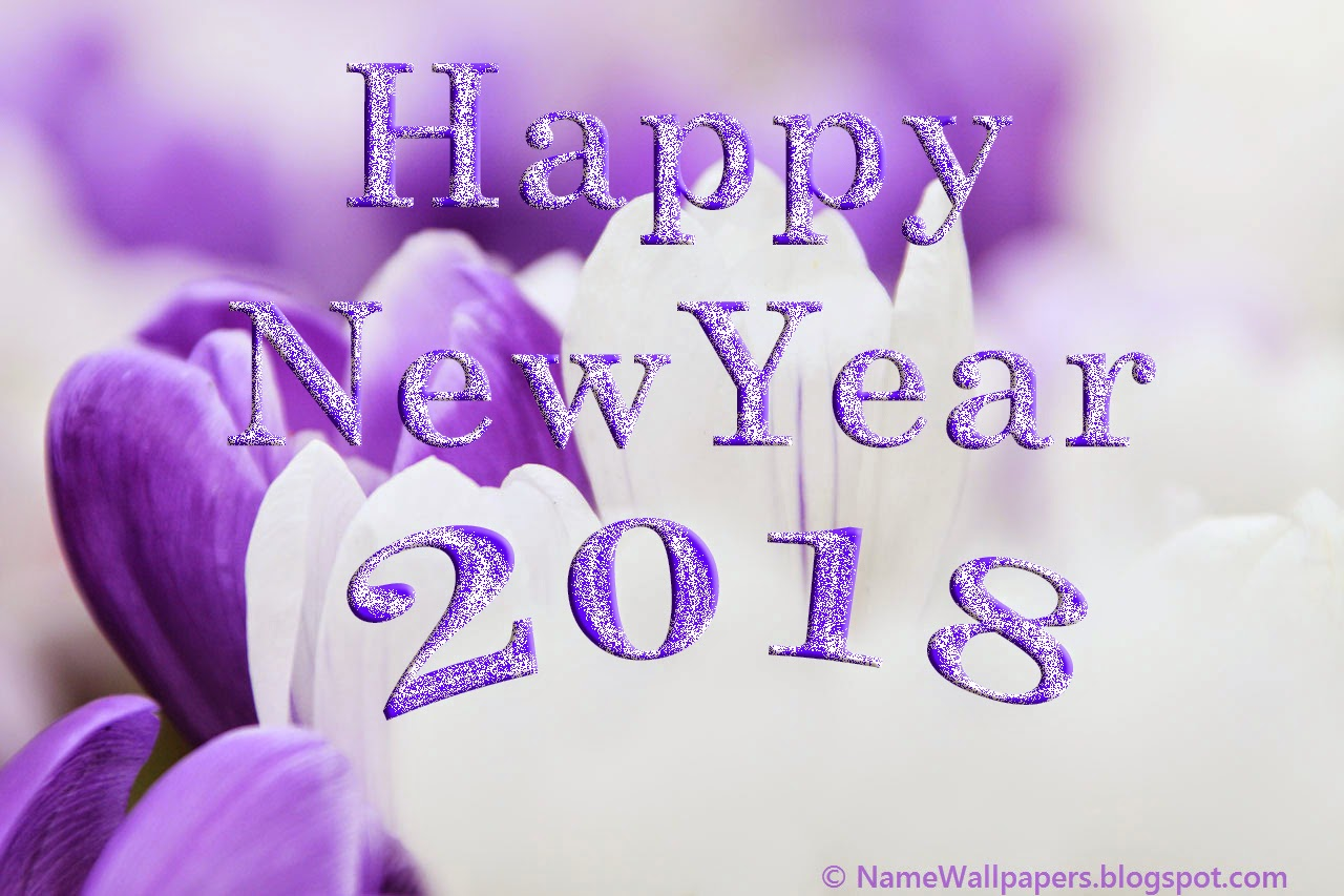 happy new year 2018 desktop background