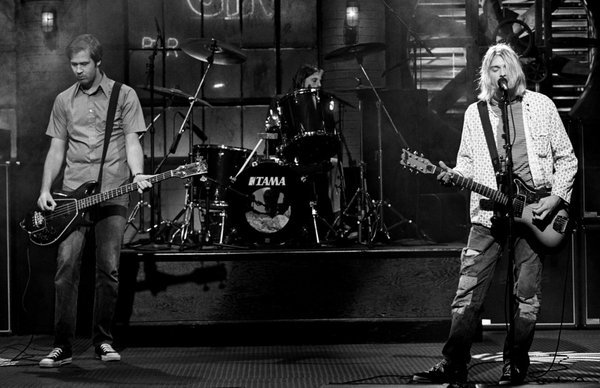 Nirvana at Saturday Night Live.  1993