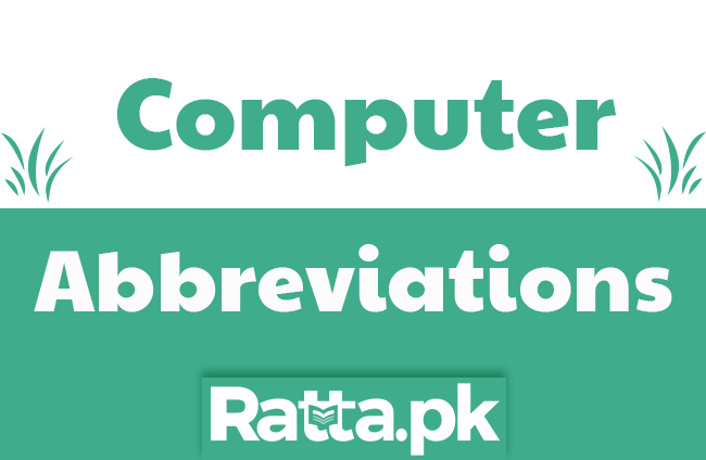 250 Computer Related Abbreviations for Computer Science Test Preparations