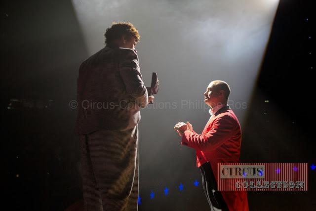 Monsieur Loyal et le clown