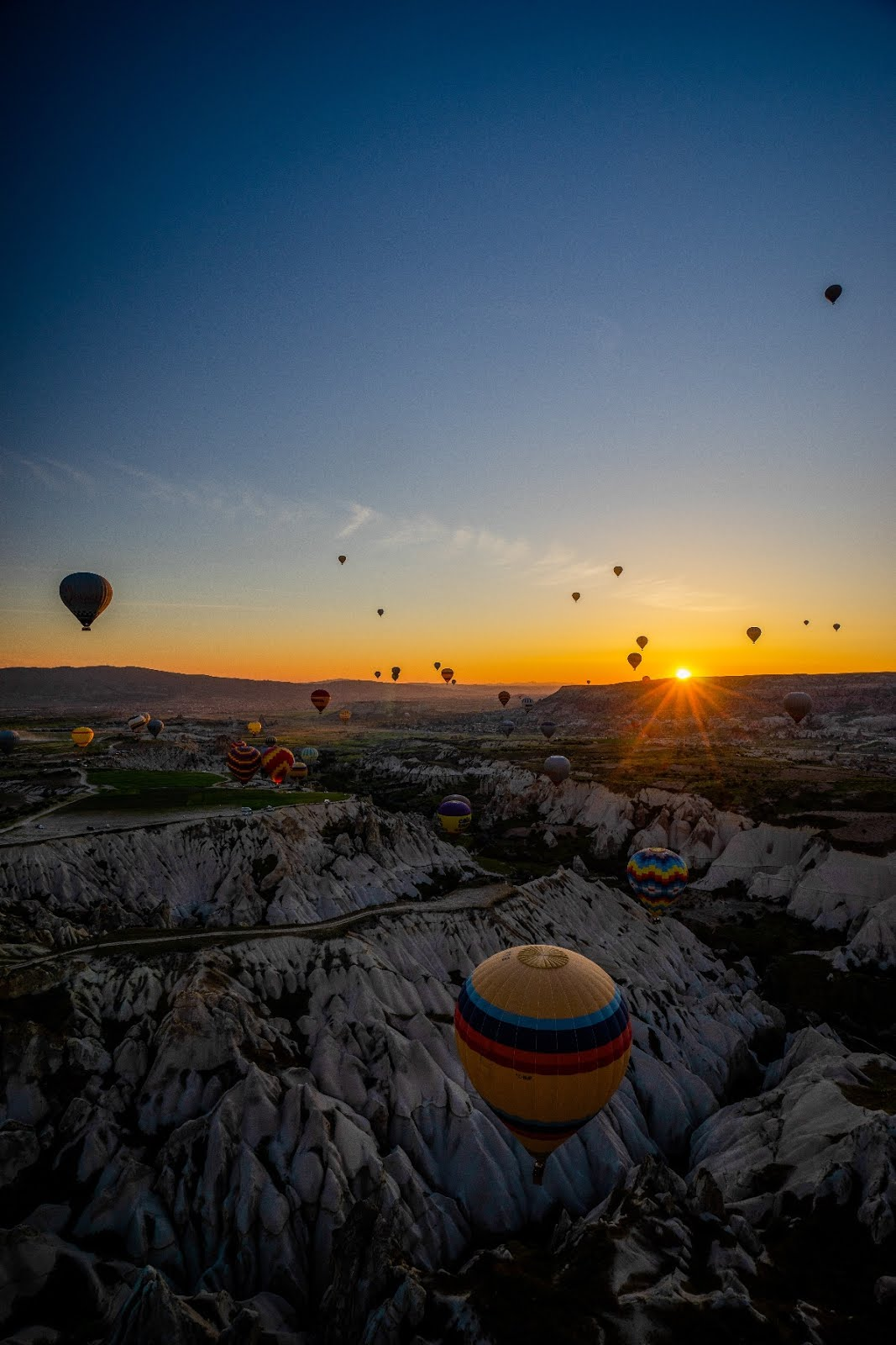 Hot Balloon ride in Cappadocia, Turkey