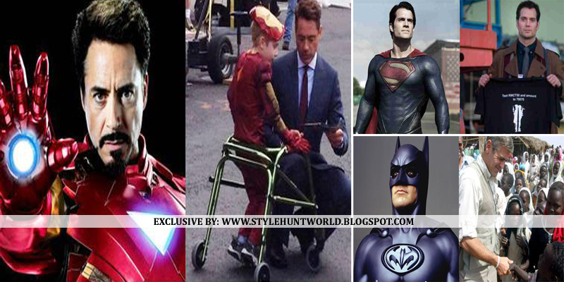 Movie Superheroes Who Are Even Bigger Heroes In Real Life - 29 real life heroes