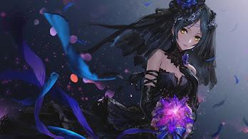 Anime, Girl, Fantasy, 4K, #4.652