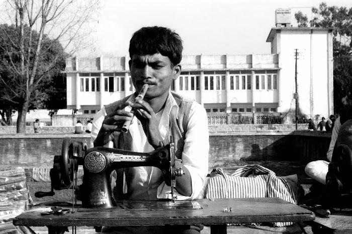 Népal, Katmandou, Bhimsen, © L. Gigout, 1990