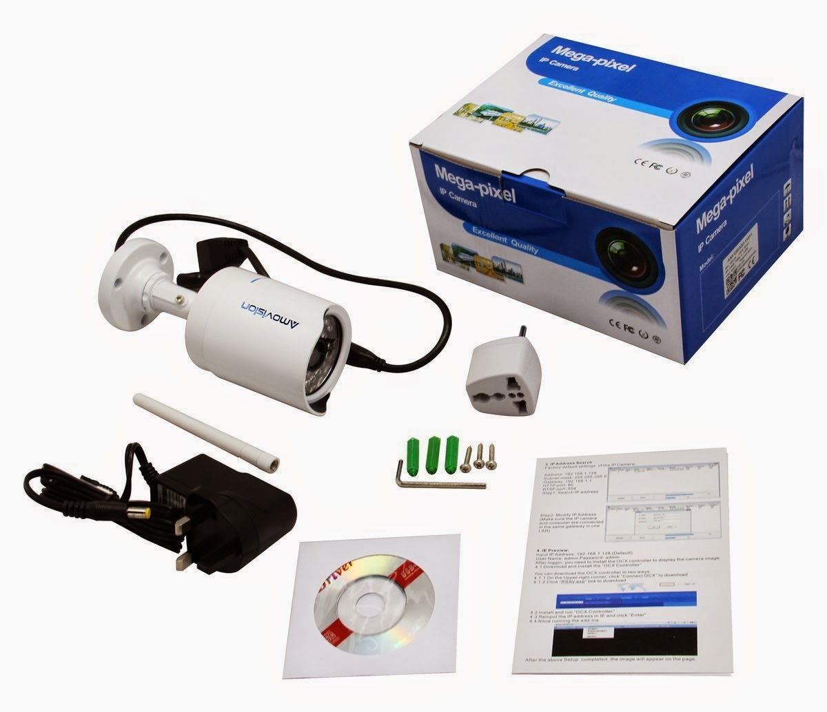 Outdoor IP Camera Amovision AM-Q6320-WIFI - Gadget Victims