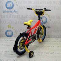 Sepeda Anak Wimcycle Minions 16 Inci Lisensi