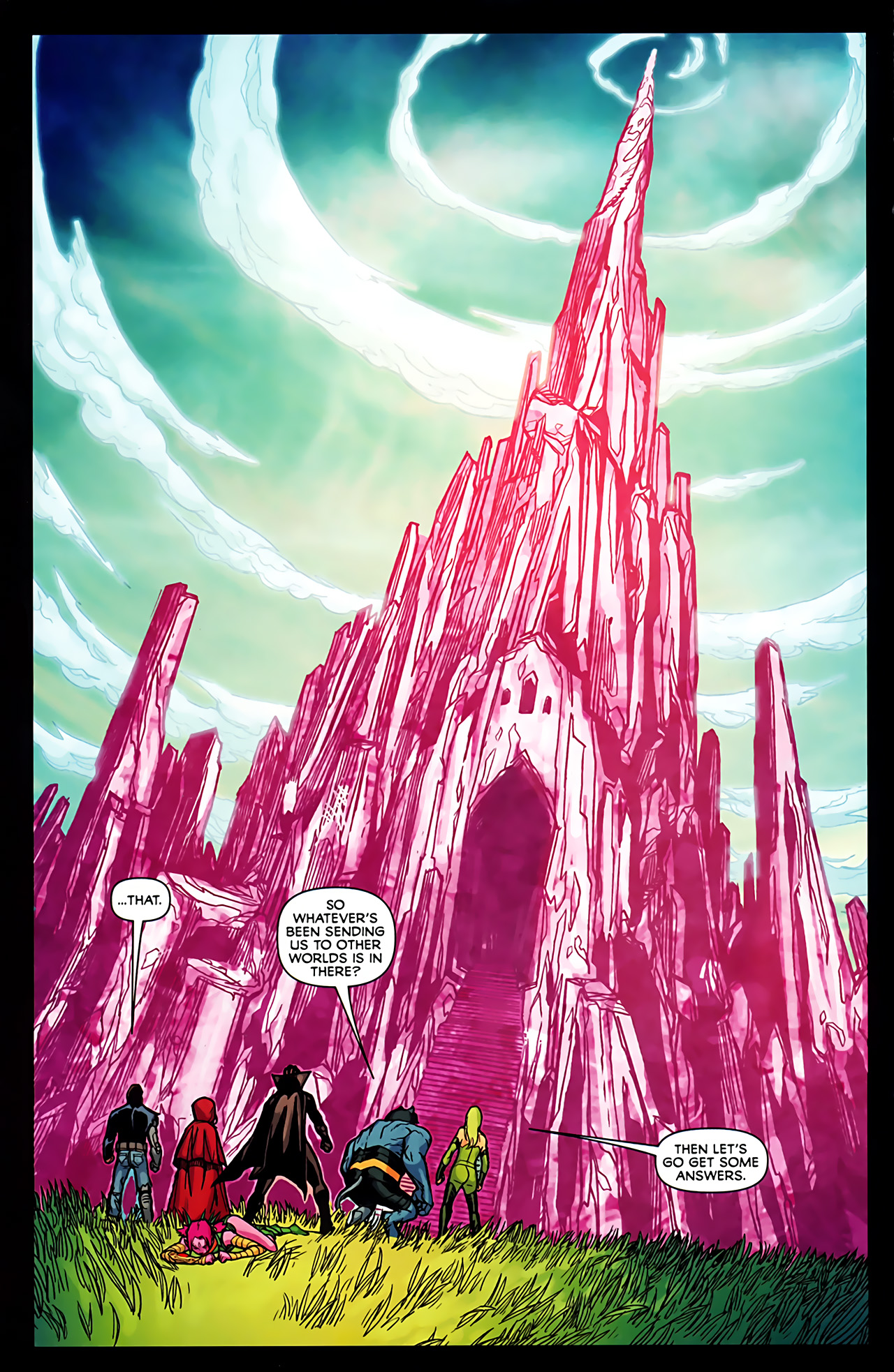 Read online Exiles (2009) comic -  Issue #6 - 20