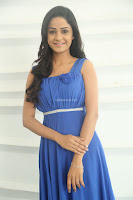 Divya Nandini stunning Beauty in blue Dress at Trendz Exhibition Launch ~  Celebrities Galleries 051.JPG