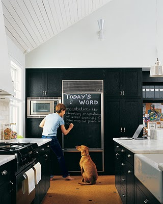 Pro or Con: Chalkboard Paint on the Fridge?