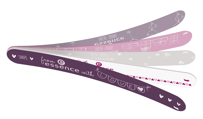 from essence with love peel-off nail file