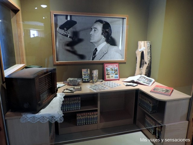 Museo, Poza de la Sal, Félix Rodríguez de la Fuente