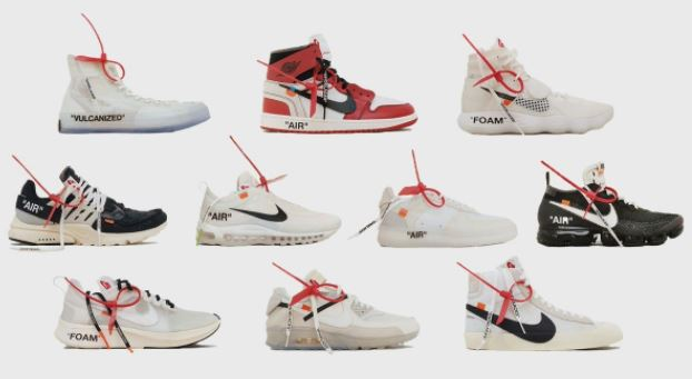 "aaf292eb0 Virgil Abloh and Nike / Jordan Brand Announce New Design Project ""The Ten"",  The first five icons of The Ten — the Air Jordan I, Nike Blazer, Nike Air  Presto ..."