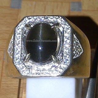 Cincin Batu Permata Silimanite Cat Eye - ZP 1013